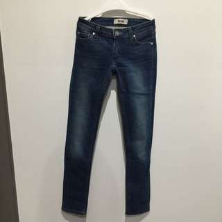 ACNE Jeans 25 Skinny Dark Blue Women Ladies 6