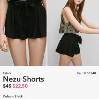 Aritzia Talula Next Shorts Size 6
