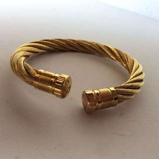 Charriol GOld ROpe Bracelet