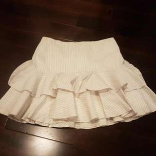 **REDUCED PRICE** Marciano Off-white Skirt