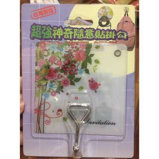 🚚 ‼️MIT台灣製造,史上最強‼️超強力隨意貼掛鉤(花色隨機)