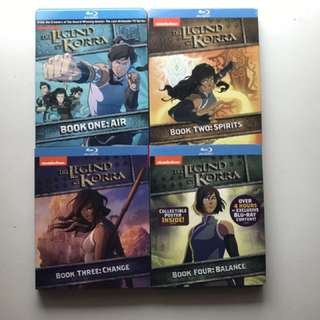 The Legend Of Korra Complete Series Blu Ray