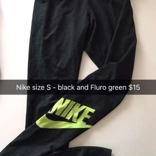 Nike Leggings Size small