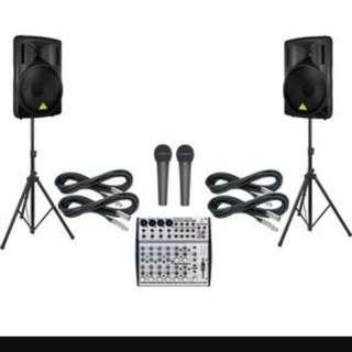 PA Sounds System Rental!