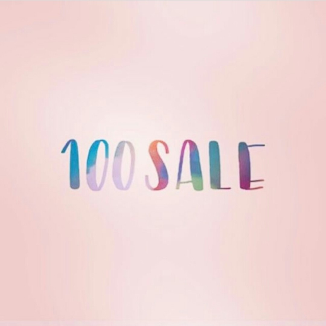 100 PESO SALE ON CLOTHES