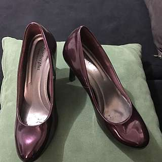 "5"" Red Violet 2-inch Heeled Shoes"