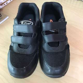 BATA Black School Shoes ( Size 37 )