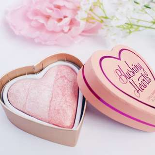 Peachy Pink Kisses Triple Baked Blushers By I Heart Makeup London