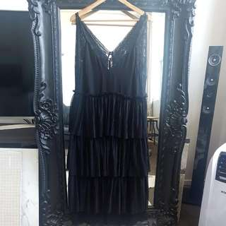 Black H&m Lace Dress Eur Size 42