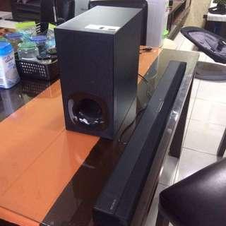 Sony SOUND BAR Wireless Subwoofer HITAM HT-CT180
