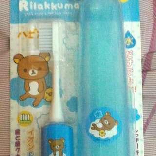 日本帶回拉拉熊電動牙刷