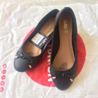 Flasthoes Rubi Cotton On Black Size 37