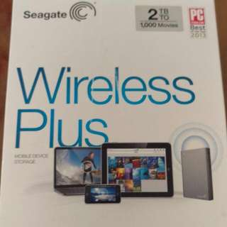 超大容量無線硬碟Seagate Wireless Plus 2TB