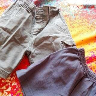 pre loved kids' shorts