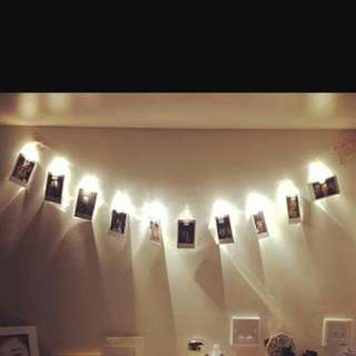 Fairy Light With Clips