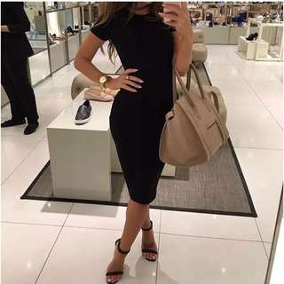 Pre-Order Bodycon Short Sleeve Dress