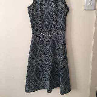 Printed Dress Sz XS