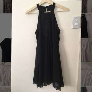 Black Dress Sz 8