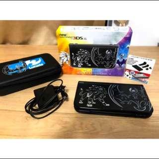 暫售 New 3DS LL 限定版 神獸機 已改A9LH
