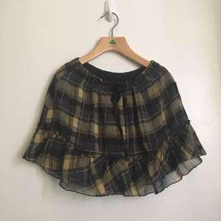 Sale! Checkered Skirt