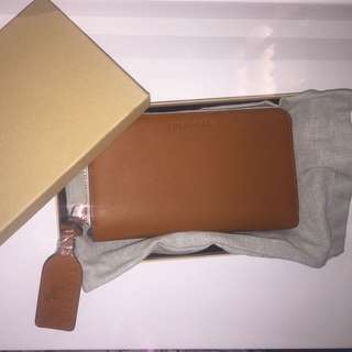THE HORSE - BROWN LEATHER WALLET