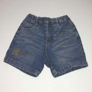Kid's Maong Shorts