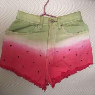 Customized Shorts Watermelon