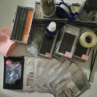 Full Kit Of Mink Eyelash Extensions