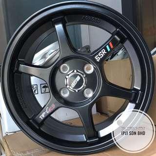 "15"" Designed Sport Rim & Tayar Baru"