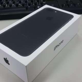 Apple iPhone 7 Plus 128G 霧面黑