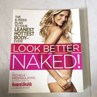 Look Better Naked Book By The Women's Health @ $15
