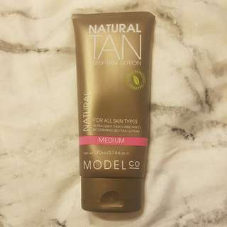 Model Co Self Tan Lotion