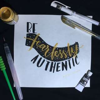 Brush Calligraphy Artworks and Services