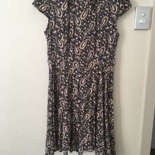 Caroline Morgan Dress Sz 12