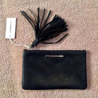 Country Road Tassel Pouch RRP $59.95