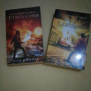 Seri 3&4 Percy Jackson&Olympians