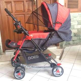 Stroller BabyDoes Bandre