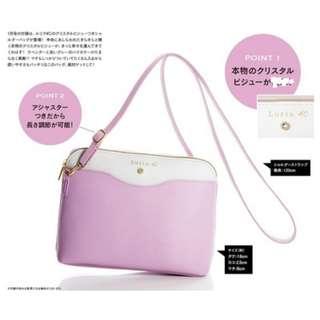 [全新] 日本雜誌附錄粉色百搭鈄咩袋