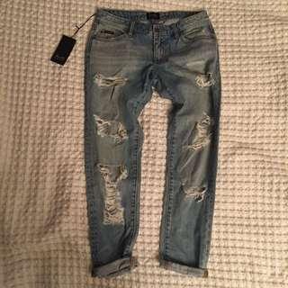Bardot Kimye Boyfriend Jeans