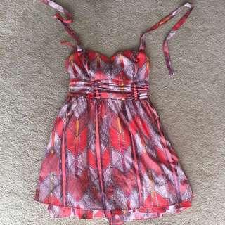 Guess Orange dress
