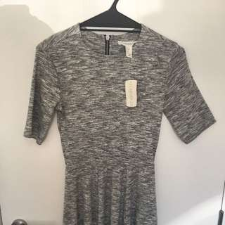 f21 Grey Marle Dress
