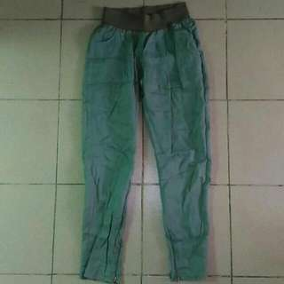 H&M Casual Pants With Laced Pockets