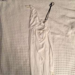 Runaway White Dress