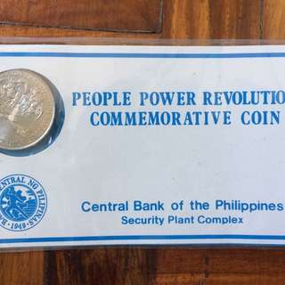 People Power Commemorative Coin