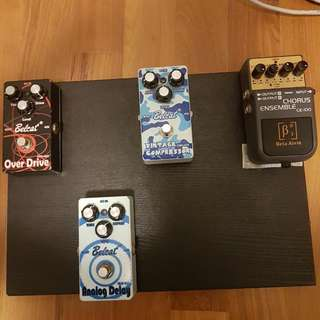 Pedals Up For Trades And Sales !!!