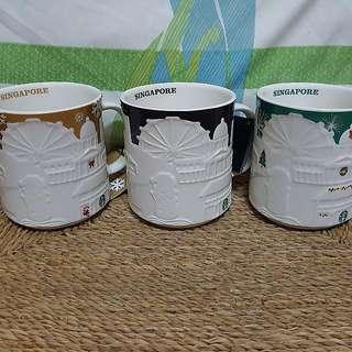 Starbucks SINGAPORE relief Mugs