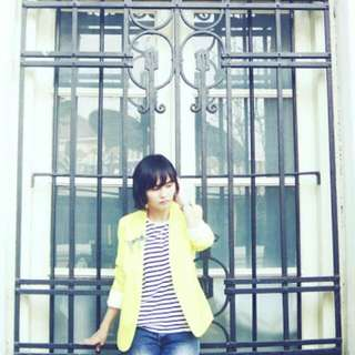 Preloved Yellow Blazer