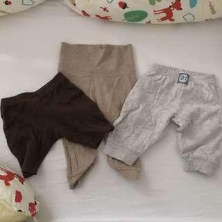長、短褲(3件組)