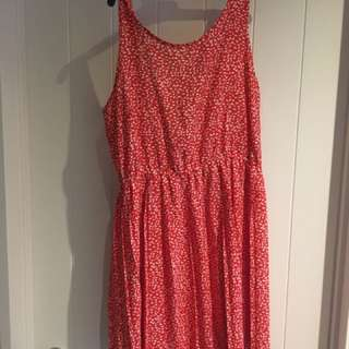 H&M Red Summer Dress