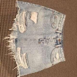 Ksubi Miss Moss Denim Skirt